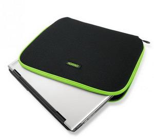 Canyon Notebook védőpárna   védőtok  fekete zöld. (16col) 21fe3943a7