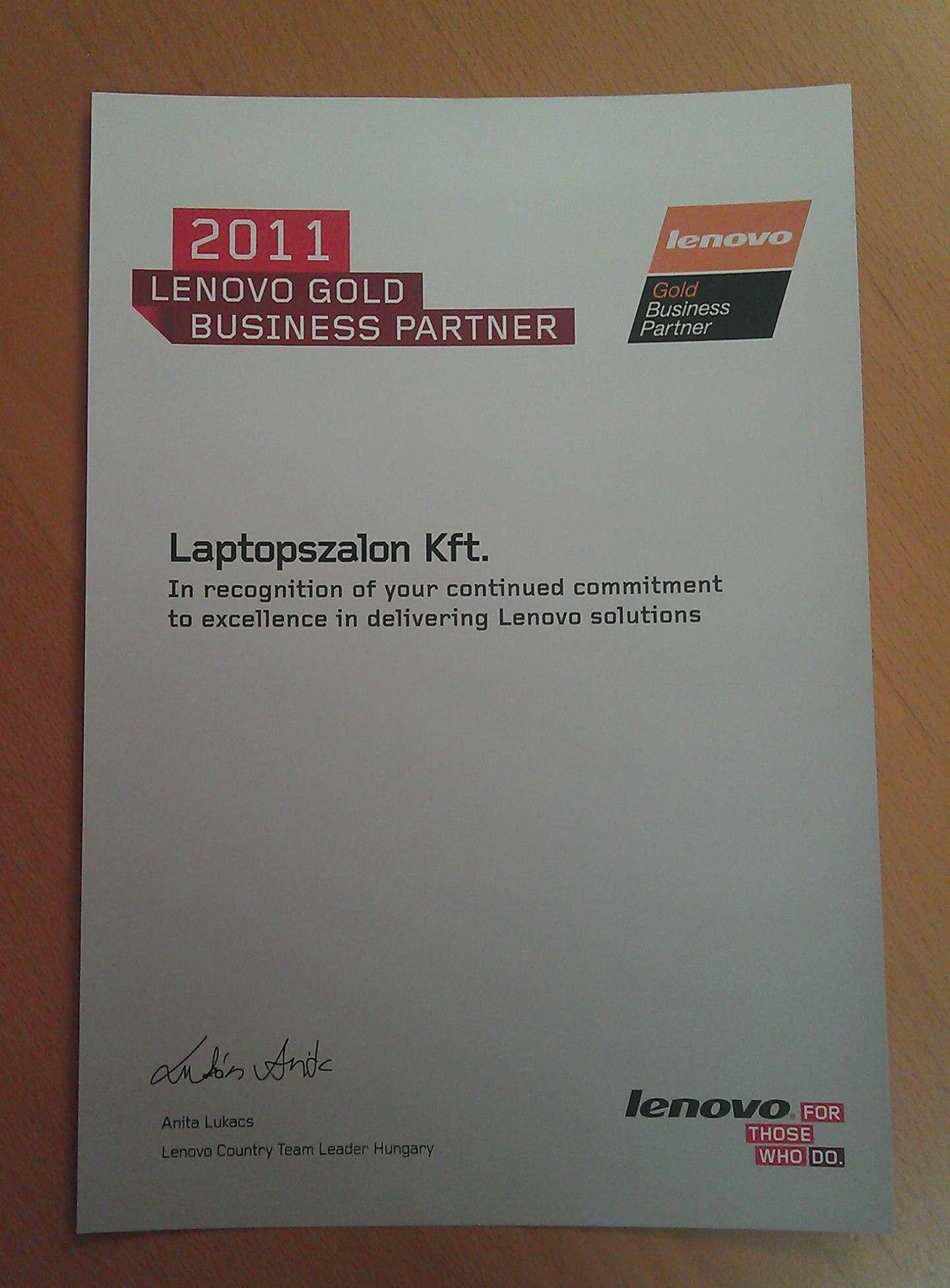 6a1366775b Lenovo Márkabolt - Lenovo Premium Gold Business Partner ...