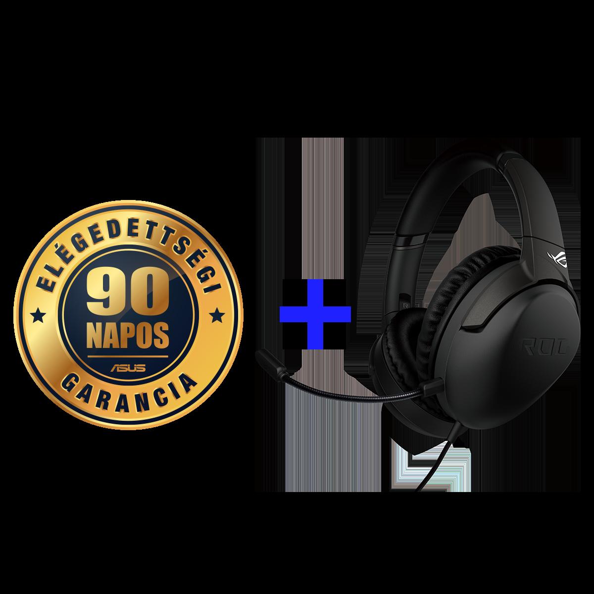 ASUS elégedettségi garancia és ráadás headset!